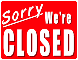 CLOSED - Thanksgiving Holiday Thu- Sun